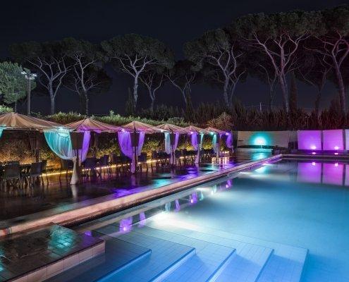 Appio Claudio Eventi locale con piscina per battesimi